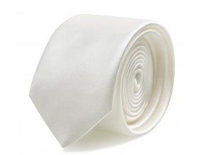 Slim kravata s kapesníčkem Brinkleys - champagne