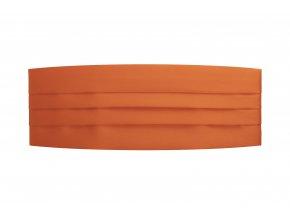 Frakový pás - oranžový