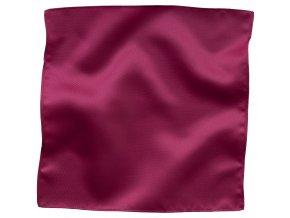 Klasický kapesníček do saka Brinkleys - sytě růžový