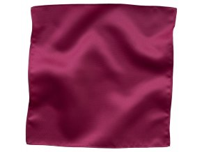 Klasický kapesníček do saka - sytě růžový