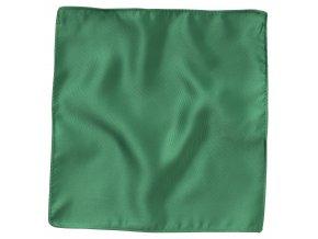 Klasický kapesníček do saka - zelený