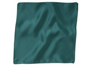 Klasický kapesníček do saka - smaragdový