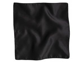 Klasický kapesníček do saka - černý