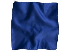 Klasický kapesníček do saka Brinkleys - královská modrá