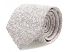 Slim kravata s kapesníčkem Brinkleys - světle růžová