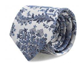 Kravata s kapesníčkem Brinkleys - modrá