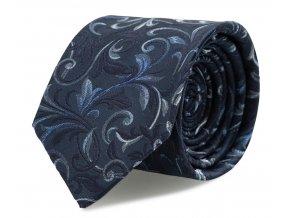 Kravata s kapesníčkem Brinkleys - marine