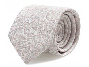 Kravata s kapesníčkem Brinkleys - světle růžová