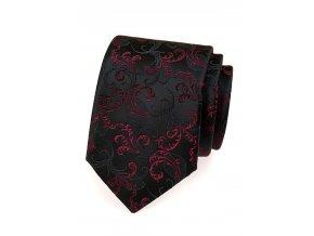 Kravata Avantgard Lux - černo-červená
