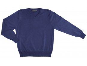 Pánský svetr AMJ Style - modrý melír