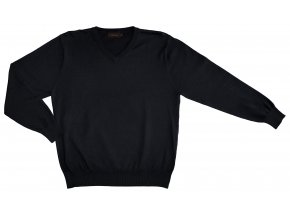 Pánský svetr AMJ Style - černý