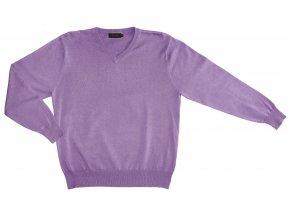 Pánský svetr AMJ Style - světle fialový
