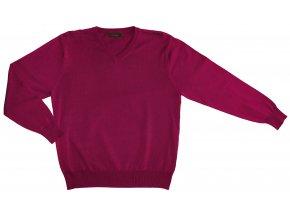 Pánský svetr AMJ Style - vínový