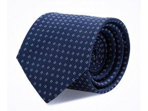 Slim kravata s kapesníčkem Brinkleys - navy