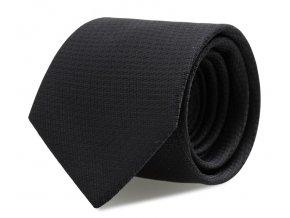 Slim kravata s kapesníčkem Brinkleys - temě modrá
