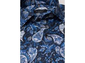"Košile Eterna Comfort Fit ""Print"" Modrá"