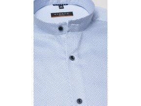 "Košile Eterna Slim Fit ""Twill"" s módním stojáčkem Modrá"