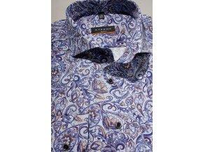Košile Eterna Slim Fit - Modrá