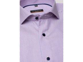 Košile Eterna Slim Fit s extra prodlouženým rukávem Růžová