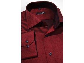 Košile Eterna Modern Fit - Červená
