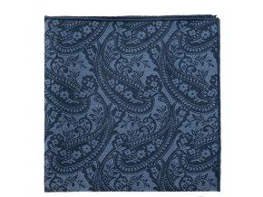 Kapesníček Avantgard LUX bavlněný - modrý