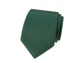 Kravata Avantgard - tmavě zelená