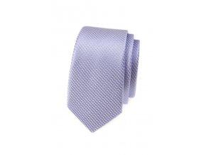 Úzká kravata Avantgard - lila