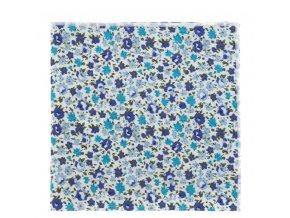 Kapesníček Avantgard LUX bavlněný - s květy