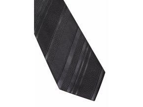 Hedvábná kravata Eterna - černá