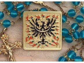 Odznak do klopy - Svatováclavská orlice