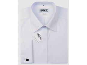 Společenská košile AMJ Slim s dvojitou manžetou