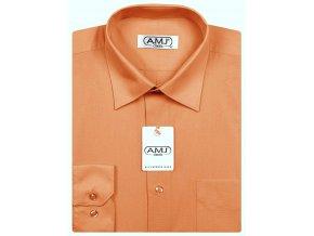 Pánská košile AMJ Classic - oranžová