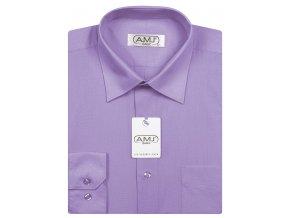 Pánská košile AMJ Classic - světle fialová