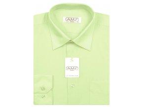 Pánská košile AMJ Classic - světle zelená