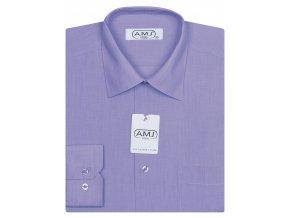 Pánská košile AMJ Classic - fialová