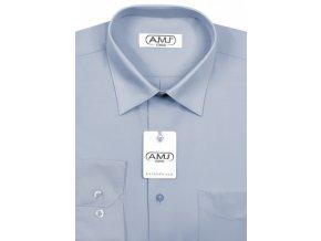 Pánská košile AMJ Comfort fit - holubí šeď