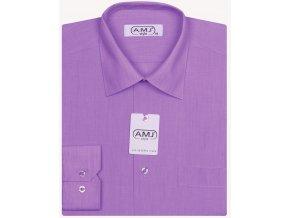 Pánská košile AMJ Classic - fuchsie