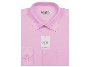 Pánská košile AMJ Classic - růžová