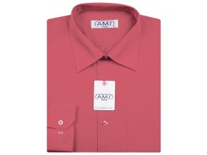 Pánská košile AMJ Classic - malinová