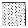 Kapesníček Avantgard LUX bavlněný - bílý s černými puntíky