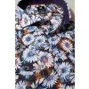 Košile Pure Modern Fit s krátkým rukávem - Kopretiny