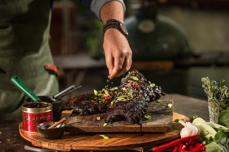 Jak udělat na grilu žebírka?