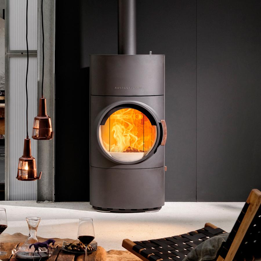 Designová kamna - umění tepla