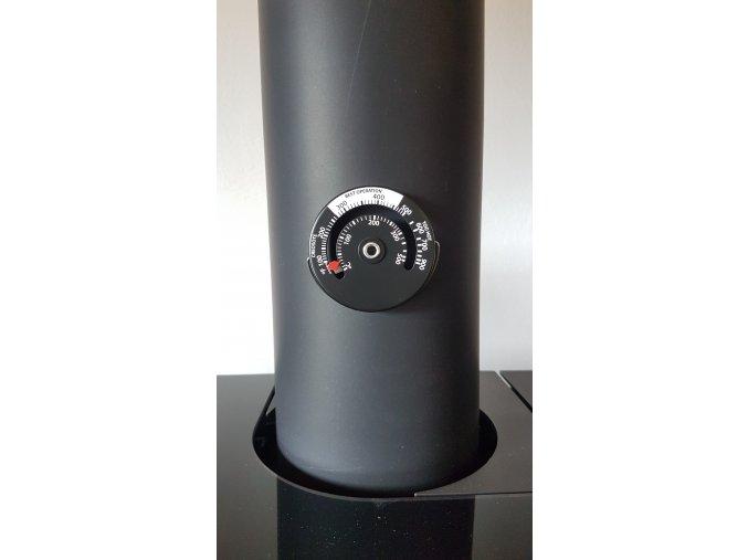 Magnetický teploměr spalin na kouřovod
