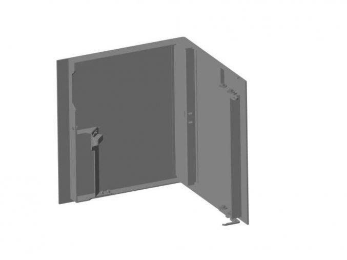 Dveře dřevníku