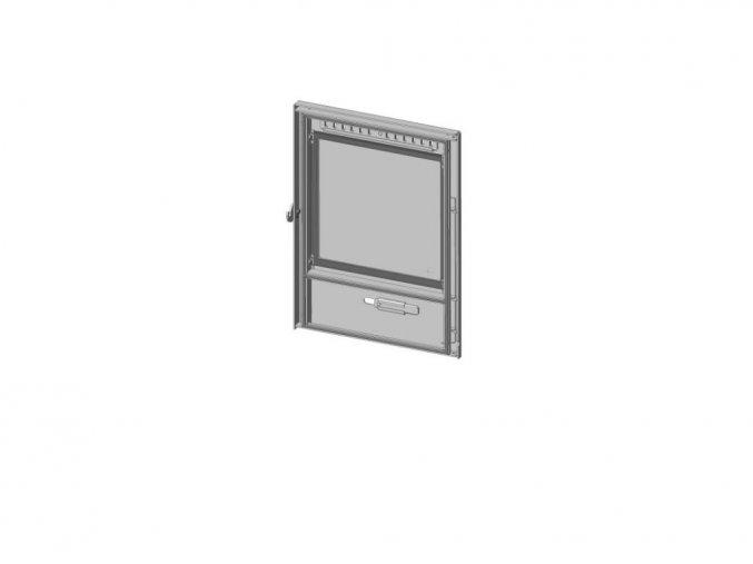 Dveře topeniště