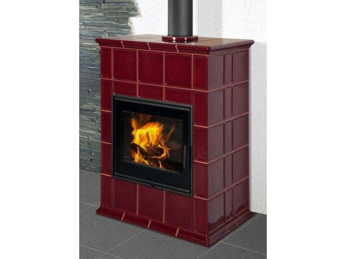 Hein BARACCA 8 TV kachlová kamna s teplovodním výměníkem  + dárek 3.000 Kč na nákup pohonných hmot u kterékoliv pumpy