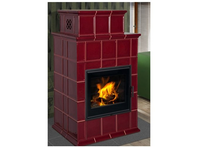 Hein BARACCA 9 TV kachlová kamna s teplovodním výměníkem  + dárek 3.000 Kč na nákup pohonných hmot u kterékoliv pumpy