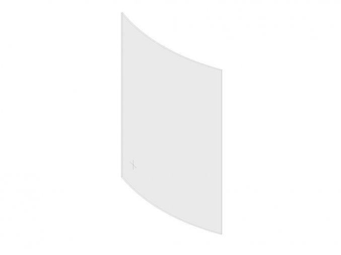 Sklo malé -přední 4x120x230
