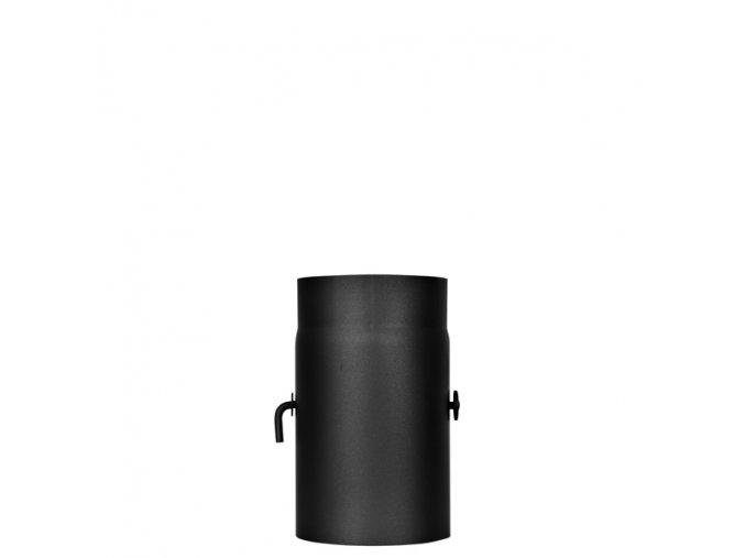 Kouřovod s klapou 130/250 mm tl.2mm